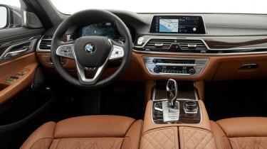 BMW 750i - dash