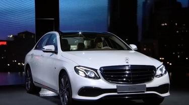 New Mercedes E-Class 2016  - front show
