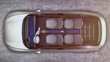 VW I.D. Crozz - above