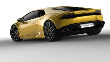 Lamborghini Huracan exterior render 3
