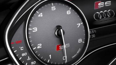 Audi S6 dials