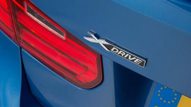Used BMW 3 Series - xDrive badge
