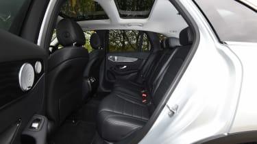 Mercedes GLC - rear seats