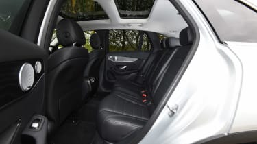 Mercedes GLC - rear seats