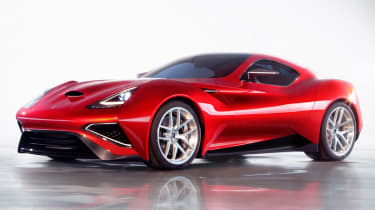 The Icona Vulcano costs around £2.5million.