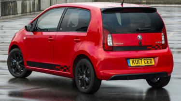 Triple test – Skoda Citigo - rear