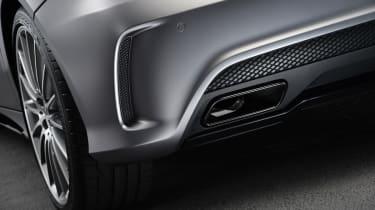 Mercedes A45 AMG detail