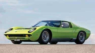 Cool cars: the top 10 coolest cars - Lamborghini Miura front