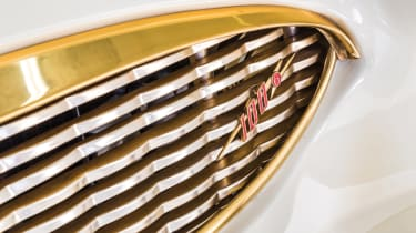Austin Healey 100-Six - front grille
