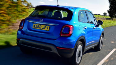 Fiat 500X - Rear Tracking