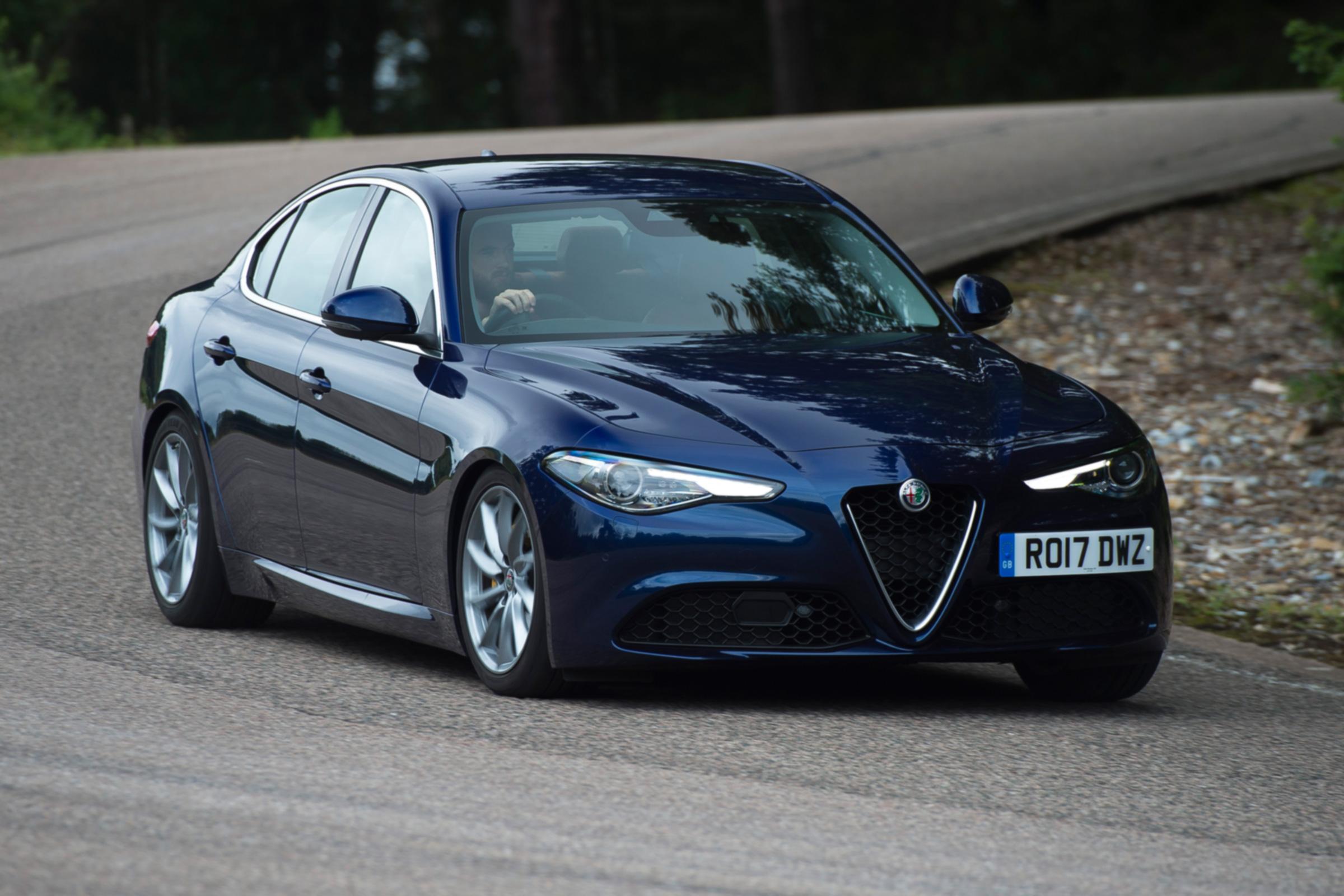 Alfa Romeo Giulia Review Auto Express