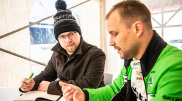 Skoda rally - Stephen Errity