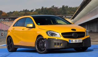 Mercedes A45 AMG prototype front