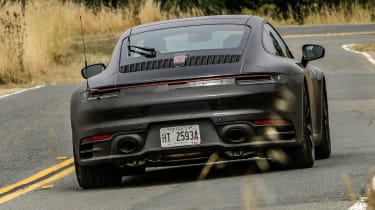 porsche 911 992 prototype rear