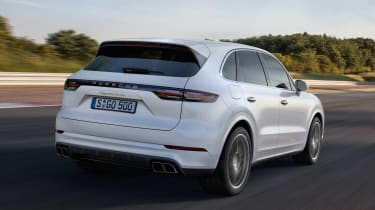 Porsche Cayenne Turbo - rear action