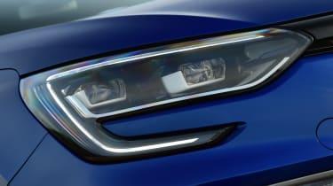 New Renault Megane 2016 hatchback GT headlights