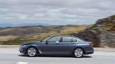 New BMW 7 Series 2015 side