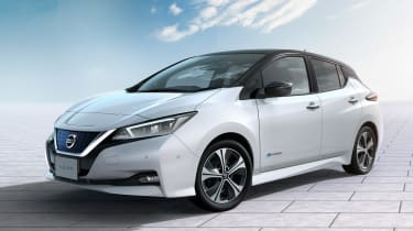 New Nissan Leaf - front studio