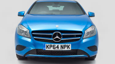 Used Mercedes A-Class - full front