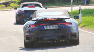 New Porsche 911 Cabriolet - rear