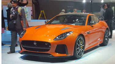 Jaguar F-Type SVR revealed in Geneva 2016
