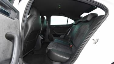 Used Skoda Superb - rear seats