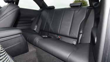 BMW 2 Series - rear seats