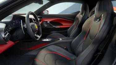 Ferrari 296 GTB - front seats