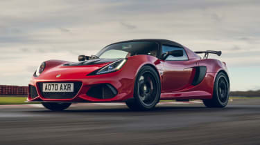 Lotus Exige Final Edition - front