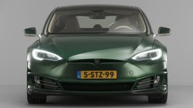 Tesla Model S Shooting Brake front end