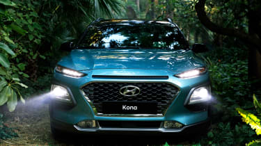 Hyundai Kona - full front