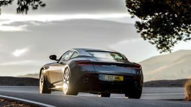 Aston Martin DB11 - rear driving