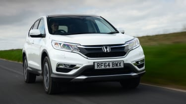 Honda CR-V - front tracking
