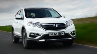 Honda CR-V - front tracking