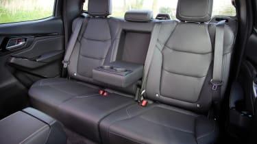 Isuzu D-Max - rear seats