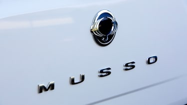 SsangYong Musso EX - Musso badge