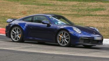 New Porsche 911 blue