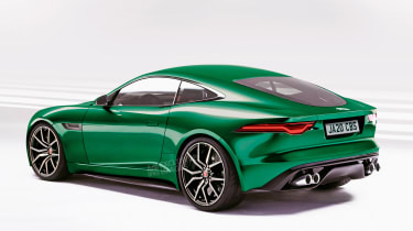 Jaguar F-Type - rear (watermarked)