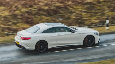 Mercedes-AMG S 63 Coupe - side action
