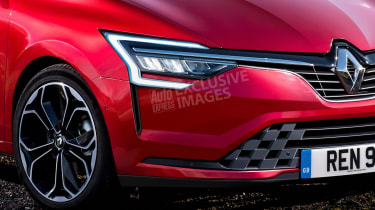 2019 Renault Clio - front detail (watermarked)