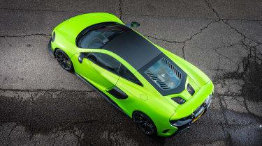 McLaren 675LT - top
