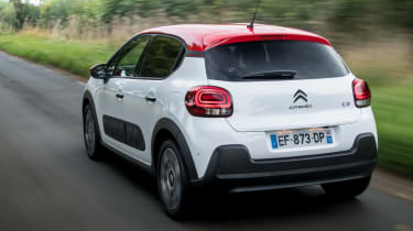 Citroen C3 2016 - rear tracking