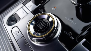 2018 Bentley Continental GT - button