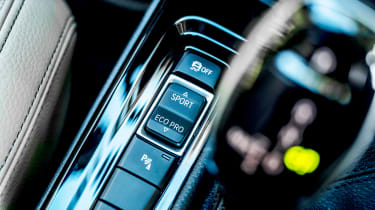 BMW X1 review - console