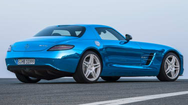 Mercedes SLS AMG Electric Drive side
