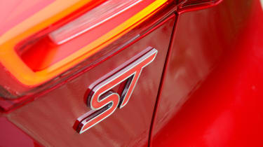 Ford Focus ST automatic - rear ST badge