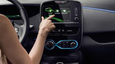 Renault Zoe 2017 - infotainment
