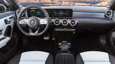 New Mercedes A-Class - dash