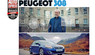 New Car Awards 2016: Car Advertising Campaign - Peugeot 308