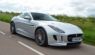 Jaguar F-Type R AWD Coupe- front tracking